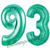 93 . Geburtstag, 100 cm, inklusive Helium