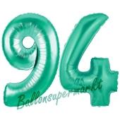 94 . Geburtstag, 100 cm, inklusive Helium