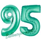 95 . Geburtstag, 100 cm, inklusive Helium