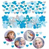 Frozen Konfetti Streudekoration, Partydekoration, 3 Sorten Streukonfetti