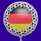 Fußball Deutschland Luftballon aus Folie