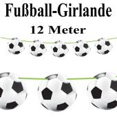 Fußball-Girlande