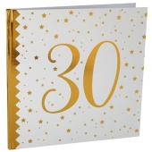 Gästebuch zum 30. Geburtstag und Jubiläum