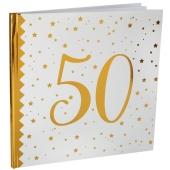 Gästebuch zum 50. Geburtstag und Jubiläum