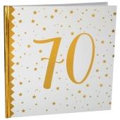 Gästebuch zum 70. Geburtstag und Jubiläum