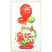 Geschenkballon zum Geburtstag, Happy Birthday