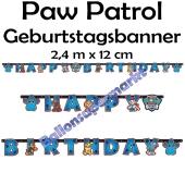 Kindergeburtstagsbanner Paw Patrol