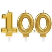 Kerzen Sparkling Celebration, Zahl 100