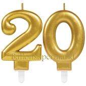 Kerzen Sparkling Celebration, Zahl 20