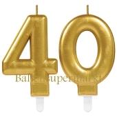 Kerzen Sparkling Celebration, Zahl 40