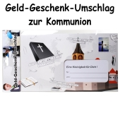 Geld-Geschenk-Umschlag zur Kommunion