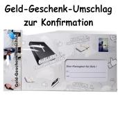 Geld-Geschenk-Umschlag zur Konfirmation