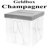 Geldbox Champagner