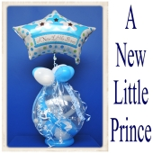 Geschenkballon, Geburt, Taufe, Baby Party, A New Little Prince
