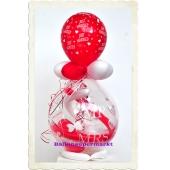 Geschenkballon zur Hochzeit, Mr & Mrs, Just Married
