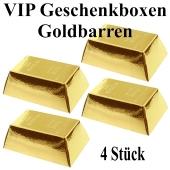 VIP Geschenkboxen, Partydekoration, 4 Stück