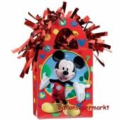 Micky Maus Ballongewicht, Geschenktüte, Halter für Luftballons mit Helium und Ballongas