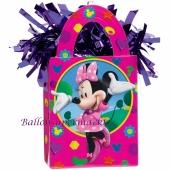 Minnie Maus Ballongewicht, Geschenktüte, Halter für Luftballons mit Helium und Ballongas