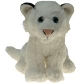 Ballongewicht weißer Löwe, Plüschtier