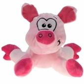 Ballongewicht Schweinchen, pink, Plüschtier