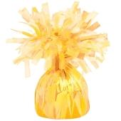 Ballongewicht, Folie, gelb