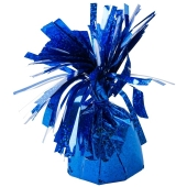 Ballongewicht, Folie, Blau, holografisch