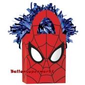 Spider-Man Ballongewicht, Geschenktüte, Halter für Luftballons mit Helium und Ballongas