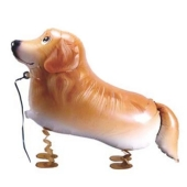 Golden Retriever Airwalker Luftballon
