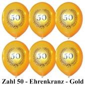 "Luftballons ""50 Jahre"" 100 Stück"