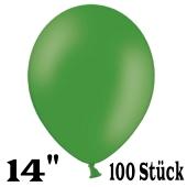 """Große Luftballons, grün, Größe 14"""", 100 Stück"""