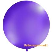 Großer Rund-Luftballon, Pastell Lavendel, 1 Meter