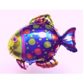 Großer Fisch Luftballon ohne Helium