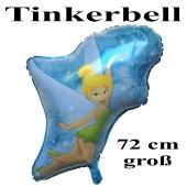 Großer Tinkerbell Luftballon aus Folie