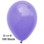 Luftballons Lila, 25 cm, 100 Stück, preiswert und günstig