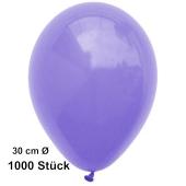 Luftballon Lila, Pastell, gute Qualität, 1000 Stück