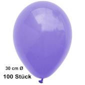 Luftballon Lila, Pastell, gute Qualität, 100 Stück