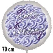 Gute Besserung! Ballon aus Folie. Spirals. 70 cm, ohne Helium