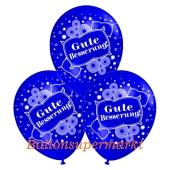 Motiv-Luftballons gute Besserung, blau, 3 Stueck