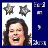Geburtstagsparty-Dekoration zum 50. Haarreif Zahl 50 zum 50. Geburtstag