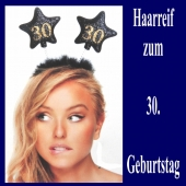 Geburtstagsparty-Dekoration zum 30. Haarreif Zahl 30 zum 30. Geburtstag
