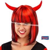 Luzifera Perücke zu Halloween