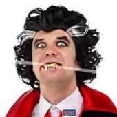 Vampir Perücke zu Halloween