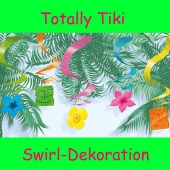 Hawaii-Partydekoration, Deko-Wirbler, Swirls