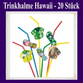 Trinkhalme Hawaii