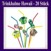 Trinkhalme Hawaii