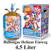 Helium Ballongas Einweg-Behälter 4,5 Liter