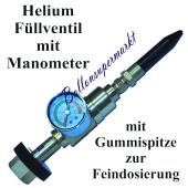 Helium-Fuellventil-mit-Manometer-zum-Aufblasen-von-Luftballons-mit-Gummispitze-zur-Feindosierung