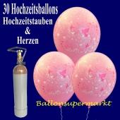 hochzeit-luftballons-helium-set-30-latexballons-hochzeitstauben-und-herzen-rosa-mit-ballongasflasche