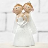 Lesbisches Hochzeitspaar, Figur zur Frauenhochzeit