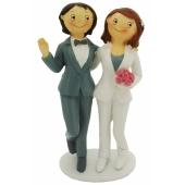 Hochzeitspaar, homosexuell, Frauen, Figur